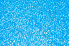 Clean water in pool Stock Image