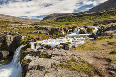 Clean water in river - Iceland. Stock Images