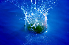 Clean water splash Stock Photos