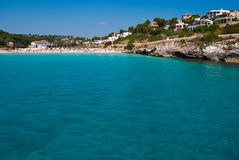Clean waters of Mediterranean Sea, Majorca, Spain Royalty Free Stock Photo