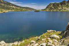 Clean Waters of  Popovo Lake, Pirin mountain, Bulgaria Royalty Free Stock Photos