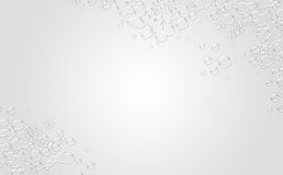 Clean White Background. Clean background for every presentation or pattern, high resolution, perfect detail work Royalty Free Stock Image