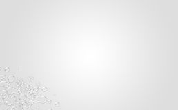Clean White Background. Clean background for every presentation or pattern, high resolution, perfect detail work Royalty Free Stock Photography