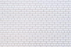 Clean white Brick Wall vector illustration