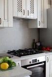 Clean white european kitchen Royalty Free Stock Photo