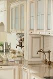 Clean white european kitchen Stock Images