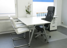 Clean white office. In hospital Stock Photography