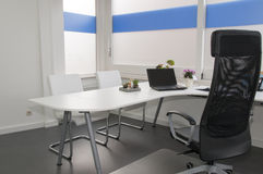 Clean white office. In hospital Stock Image
