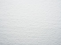 Clean white plastered surface Royalty Free Stock Photography