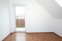 Clean white room Royalty Free Stock Photos