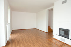 Clean white room interior Royalty Free Stock Images