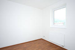 Clean white room interior Stock Photography