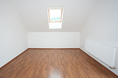 Clean white room interior Stock Photos