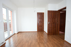 Clean white room interior Stock Image