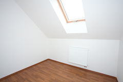 Clean white room  interior Royalty Free Stock Photos