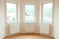 Clean white room interior Royalty Free Stock Photos