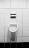 Gents Toilet Stock Photo