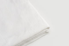 Clean White Towel Stock Photos