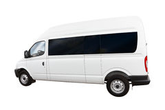 Clean white van Stock Image