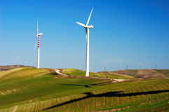 Clean wind generators Stock Image