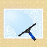 Clean the windows Royalty Free Stock Photos