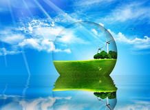 Clean world Stock Images