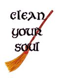 Clean your soul Royalty Free Stock Photos