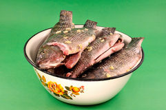 Cleaned fish Royalty Free Stock Images