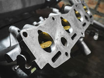 Cleaned the intake manifold Royalty Free Stock Photo