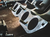 Cleaned the intake manifold Royalty Free Stock Images