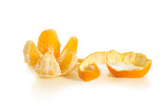 Cleaned orange Stock Photography