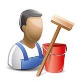 cleaner stock de ilustración