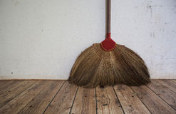 Cleaner. Broom Household equipment clean dust dirty stock images