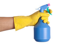 Cleaner in a hand Stock Image