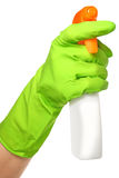 Cleaner in a hand Royalty Free Stock Photography