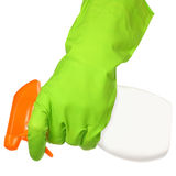 Cleaner in a hand Stock Images