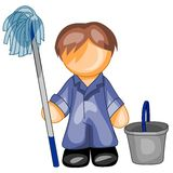 Cleaner icon Stock Photography