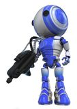Cleaner Robot Stock Photo