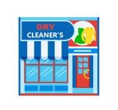Cleaner& seco x27; ícone de s ilustração stock