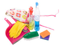Cleaner set Royalty Free Stock Photo
