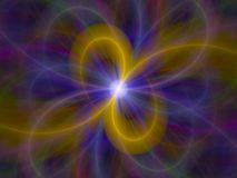 Cleaner white hole. Colorful fractal of white hole stock illustration