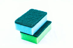 Cleaners. Household cleaning sponge for cleaning Stock Photography