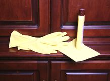 Cleaning. Royalty Free Stock Photography