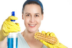 Cleaning Royalty Free Stock Photo
