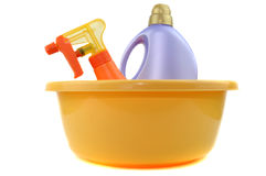 Cleaning Accessories Royalty Free Stock Images