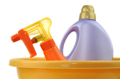 Cleaning Accessories Royalty Free Stock Photography
