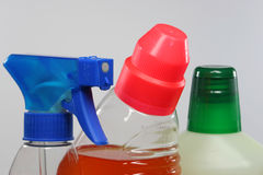 Cleaning agents Stock Image