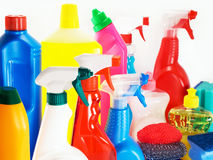 Cleaning agents Royalty Free Stock Photo