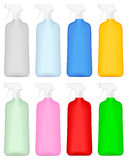 Cleaning bottle Royalty Free Stock Image