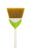 Cleaning broom isolated Royalty Free Stock Photo